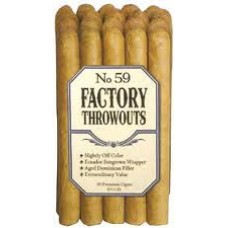 Factory Throwout 59's - 6.25 x 45 -20 Cigars