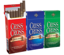 Criss Cross Filtered Cigars - 10 Packs Of 20